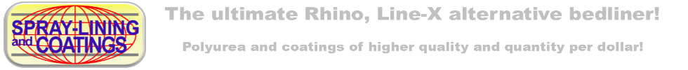 Spray Lining and Coatings - Rhino liner alternative for lower cost